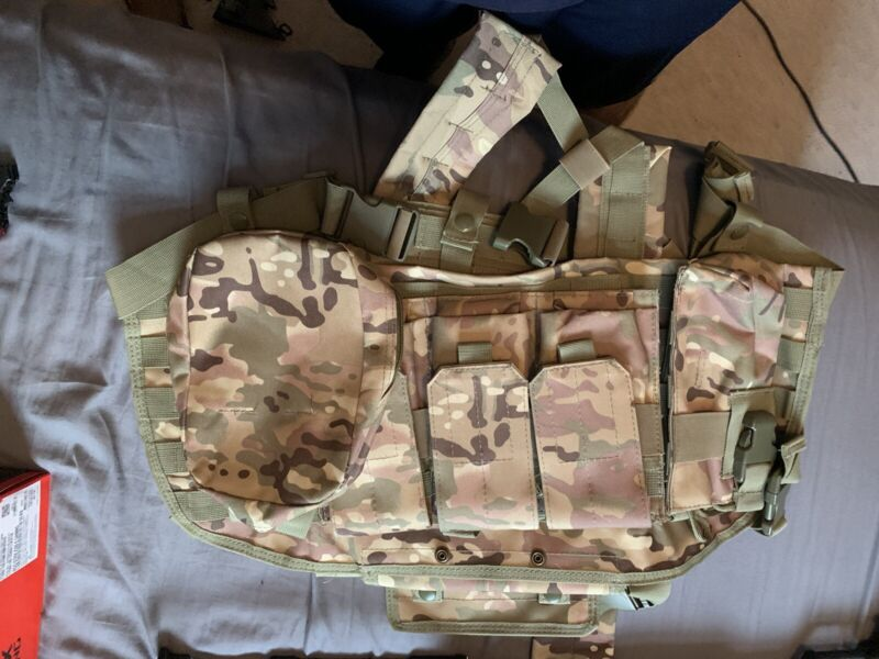 Airsoft mask And Tactical Vest