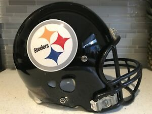 Full Size/Weight Riddell Pittsburgh Steelers NFL Football Helmet