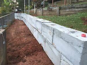 Earthmoving Excavation Retaining walls property make overs Maroochy River Maroochydore Area Preview