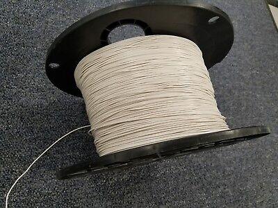 White 24 Awg Gauge Stranded Hook Up Wire Kit 25 Ft Ul1007 300 Volt