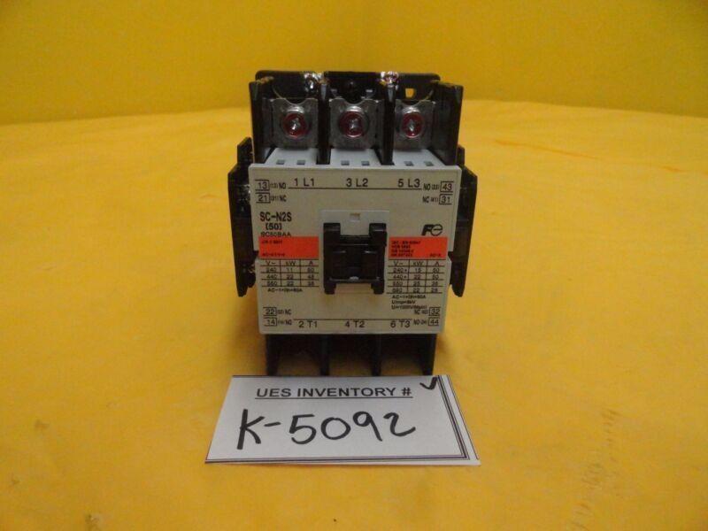 Fuji Electric SC50BAA Magnetic Contactor SC-N2S Used Working