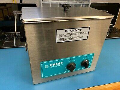 Crest 1.5 Gallon Ultrasonic Cleaner Model Cp500ht