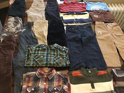 2T Boys Fall Winter Clothes Lot Polo Oshkosh Timberland Carters Nautica