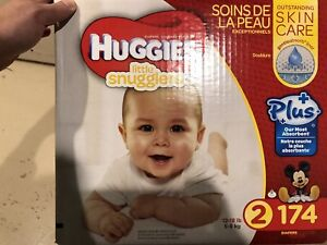 Huggies Little Snugglers Plus Size 2 Diapers - 105 pieces