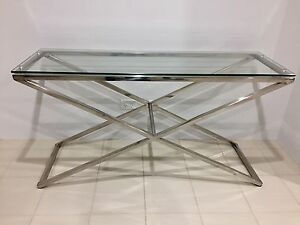 Table console (from Nick Scali) and wall mirror Wellard Kwinana Area Preview