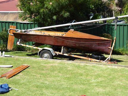Cherub sailing boat