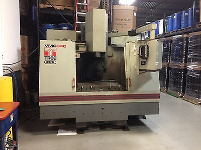 Tree Vmc800 3-axis Cnc Machining Center 230v 3 Phase Good Working Condition