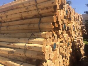 New Cedar Fence Posts - Various Sizes