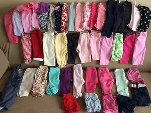 154 piece 0-6month (mainly 3-6) baby girl lot