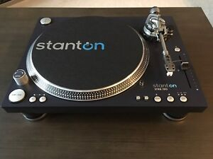 Record Player Turntable (DJ Quality) Stanton STR8-150 Mint