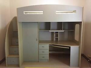 Single Loft Space Saver Bunk Bed - Excellent condition Teringie Adelaide Hills Preview