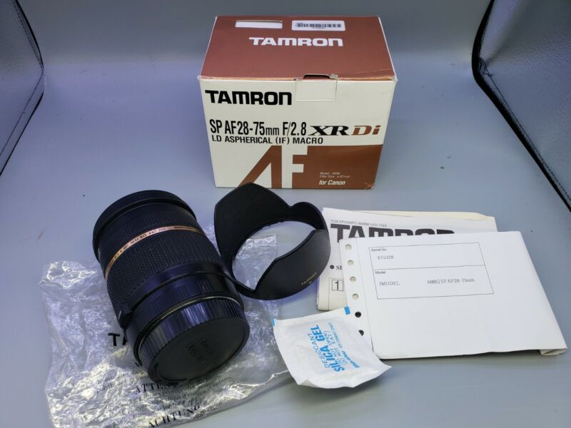 Tamron SP AF 28-75mm F/2.8 XR Di LD Aspherical Macro for Canon
