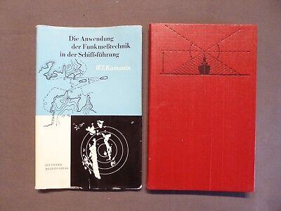 Buch, Kamanin, Anwendung der Funkmeßtechnik in der Schiffsführung, DDR EA 1962