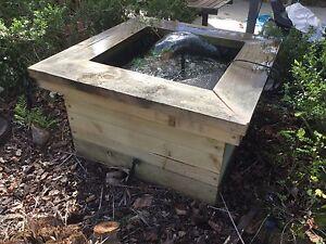 Fish pond in brisbane region qld gumtree australia free for Portable koi pond