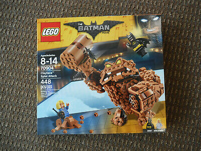 Brand New LEGO 70904 The Batman Movie Clayface Splat Attack 448 Pieces