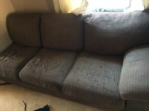Free sofa great for camp!