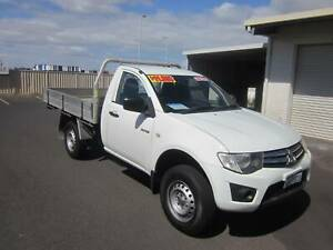 2013 Mitsubishi Triton 2WD Turbo Diesel Tray Top Geographe Busselton Area Preview