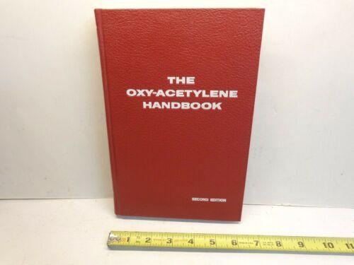 "Vintage Union Carbide Linde ""The Oxy-Acetylene Handbook"" Welding Cutting 1960"