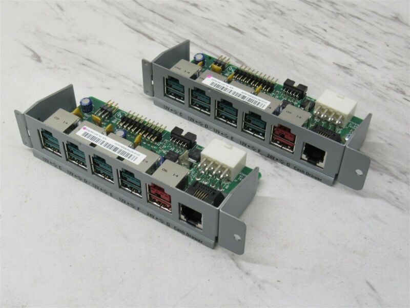 Lot of 2 NCR RealPOS 7606 USB Powered Plus Expansion Card 497-0475265