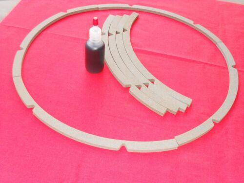 "15"" JBL/ Altec Cork Speaker Gasket ( 8 pcs )"