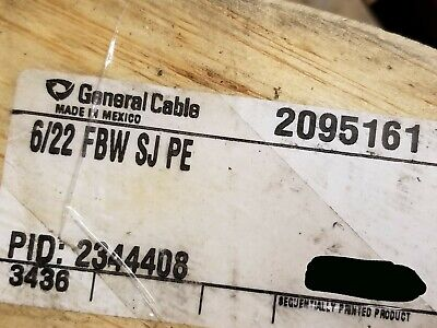 General Cable 2095161 226p Telecom Gel Fill Bsw Buried Service Wire Bell 100ft