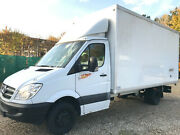 Mercedes-Benz Sprinter 516 Koffer Maxi / Engine makes noise!