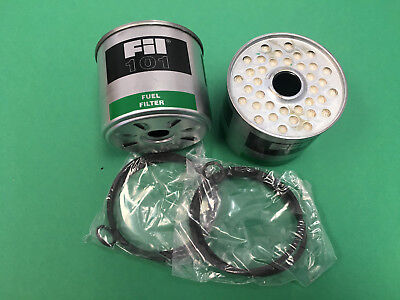 John Deere Tractor Dual Fuel Filter Element Kit At17387 1010 1020 2010 2130 2520