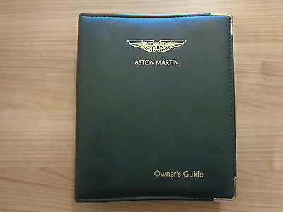 Aston Martin DB7 Vantage Owners Handbook/Manual and Wallet