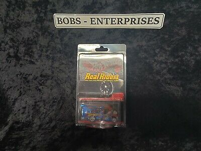 Hot Wheels RLC Series 13 Haul of Flame Real Riders  Spectraflame IN A CASE HE-2