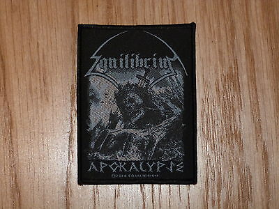 EQUILIBRIUM - APOKALYPSE (NEW)SEW ON W-PATCH OFFICIAL BAND MERCHANDISE