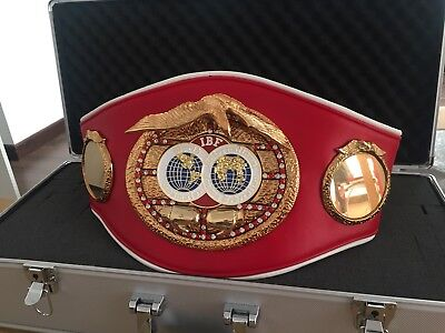 IBF Championship Boxing Belt- most accurate replica -Custom Made WBU WBF WBO