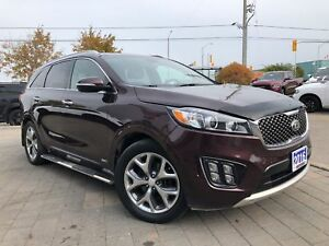 2016 Kia Sorento 3.3L SX**ALL WHEEL DRIVE**NAVIGATION**