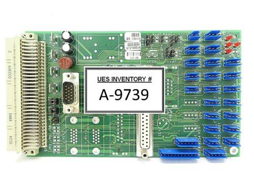 Jenoptik 812100038 Interface Board PCB 01 13010 Brooks Automation 131-25 Working