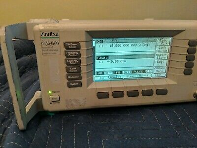 Anritsu 68369anv 10 Mhz To 40 Ghz Synthesized Signal Generator