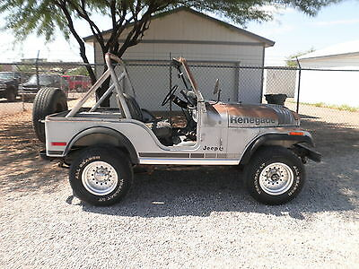 1979 cj-5 LIMITED EDITION SILVER ANNIVERSARY MODEL  CJ5 CJ