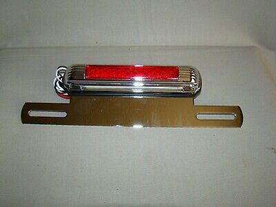 12 volt Led license plate light LED stop light license bracket third brake light