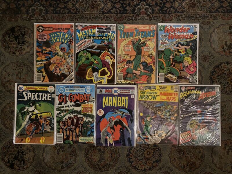 The Brave and the Bold 50 73 DC Special 29 Teen Titans 46 & More Silver Age Lot