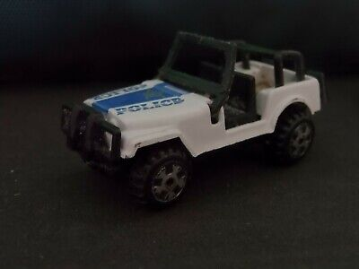 Police Jeep - White 1:64 Scale Die-cast Model Toy Car  for sale  Shipping to Ireland