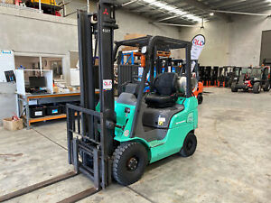 Mitsubishi FG15NZT Mitsubishi 1.5t with Sideshift LPG / Petrol Counterbalance Luscombe Gold Coast North Preview