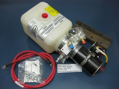 Rv Leveling System Hydraulic Pump Tank Assembly Series Class C 12v Power Unit