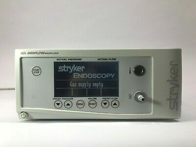 Stryker 620-040-504 40 Liter Core High Flow Insufflator With Low Flow Mode