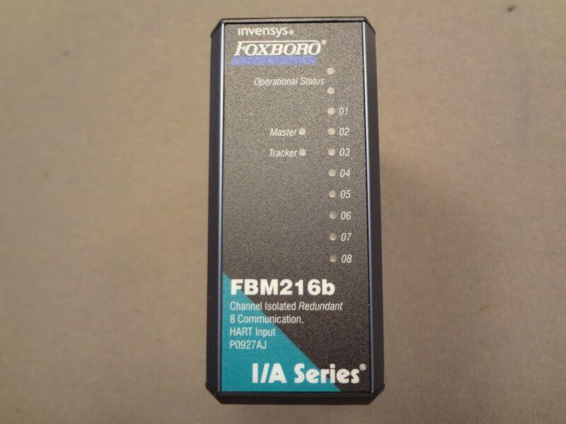 FOXBORO Invensys Analog Input Module FBM216B