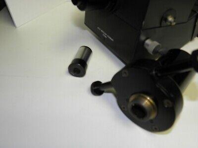 Leitz Wetzlar Trinocular Head 512787 With Camera Attachment