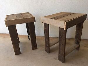 Pallet side tables Woodroffe Palmerston Area Preview