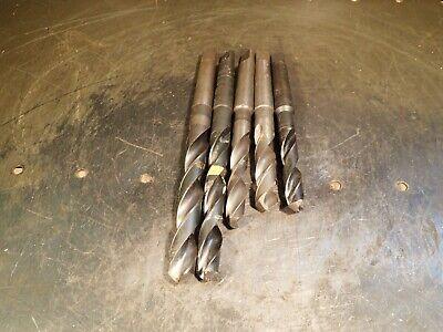 5 Piece Lot Morse Taper 2 Drill Bits 916 1932 4764 2132 4364 Mt2 2mt