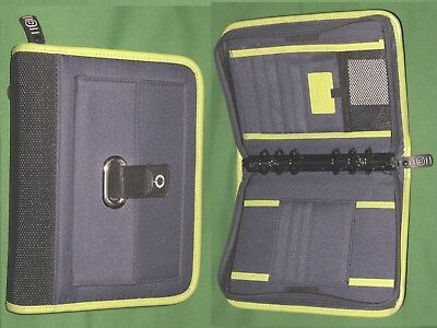 Compact 1.0 Blue Green Nylon Franklin Covey Planner Binder Sport Seahawks