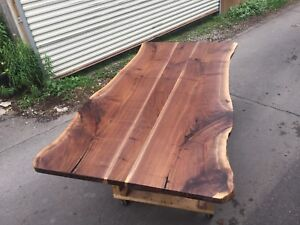 Incredible 7' live Edge Dining Table liquidation sale priced!!