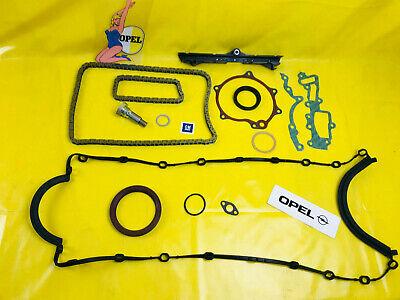 NEU ERSATZTEILPAKET XXL Opel 3,0 24V Steuerkettensatz + Dichtungen C30SE 3.0 3,6, gebraucht gebraucht kaufen  Lüdenscheid