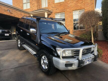 Toyota LandCruiser 100 series GXL 2003 Lysterfield Yarra Ranges Preview