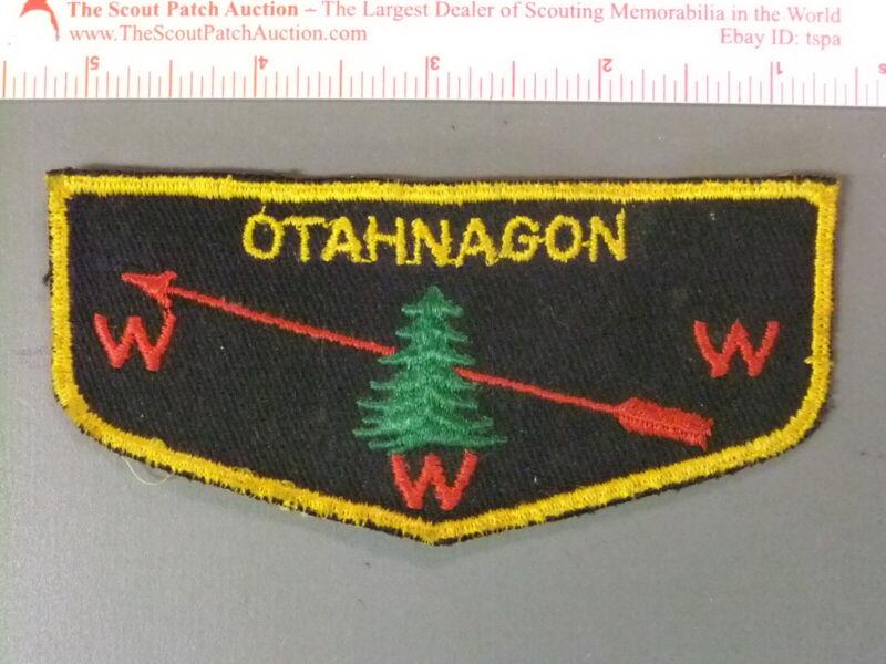 Boy Scout OA 172 Otahnagan flap 7629JJ